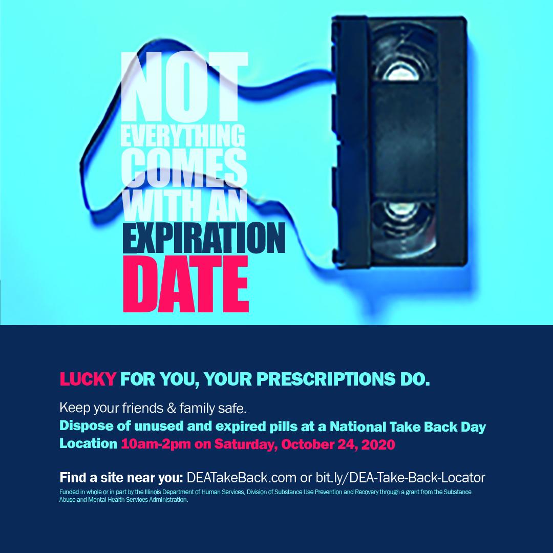 National Take-Back Day Oct 2020 Social Media